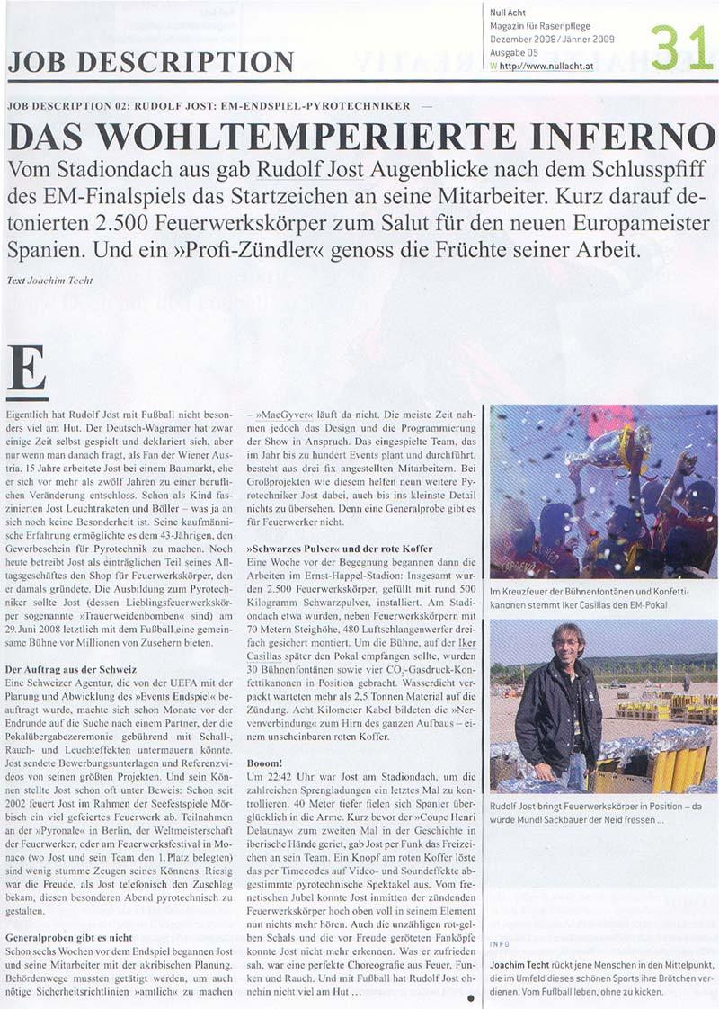 Bericht-UEFA-Null-Acht-Magazin-Dezember-2008