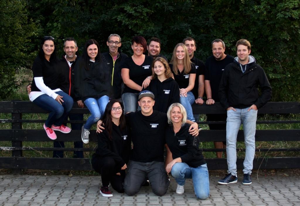 Team von Feuerwerke Jost
